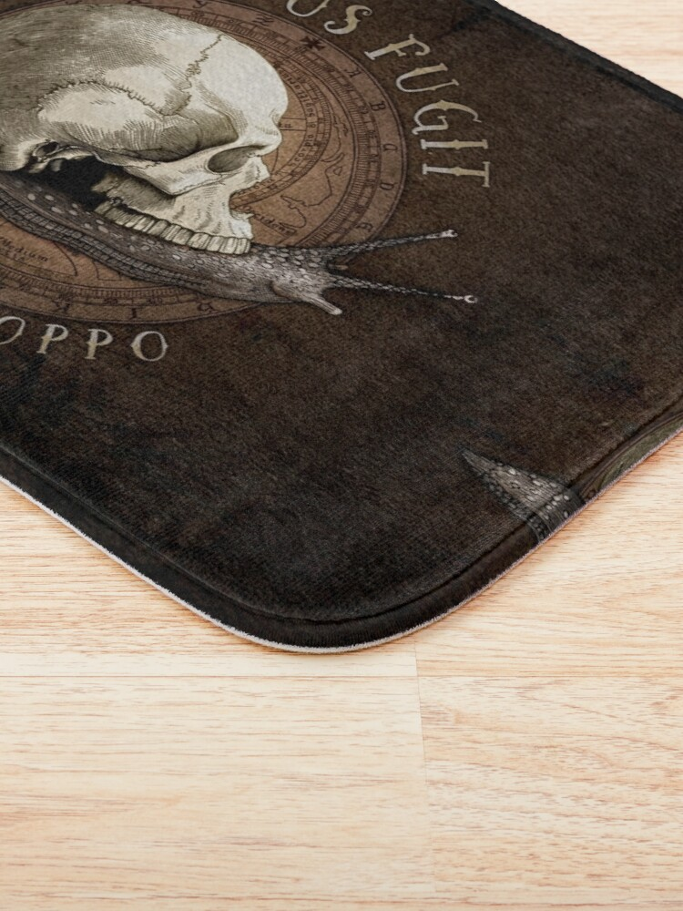 Alternate view of Tempus Fugit (ma non troppo) Bath Mat