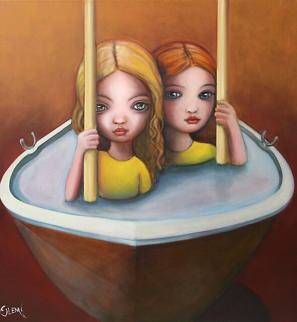 The trouble with water ll by Glenn McLeary