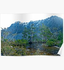 Artists Pool, Cradle Mountain Poster