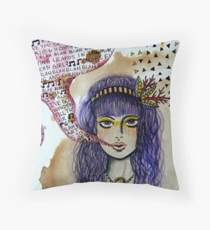 Speak Easy Throw Pillow