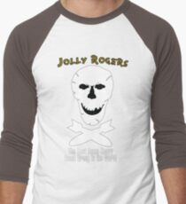 Jolly Rogers Design 2 Men's Baseball ¾ T-Shirt