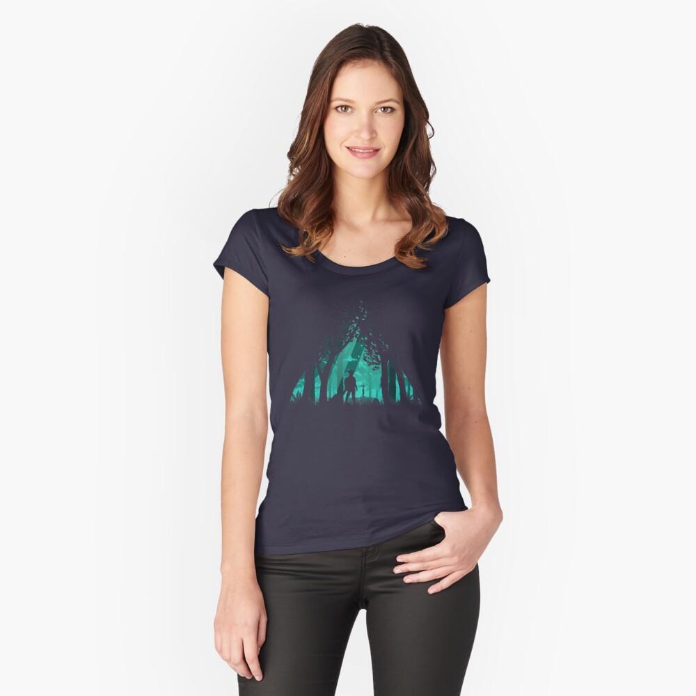 Es ist gefährlich alleine zu gehen Tailliertes Rundhals-Shirt