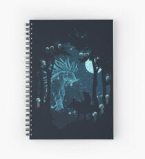 Cuaderno de espiral Espíritu del bosque