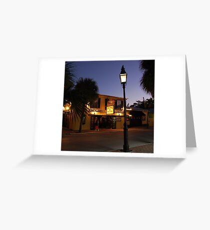 Captain Tony 's Saloon in Key West, FL Greeting Card