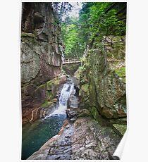 Sabbaday Falls, New Hampshire Poster