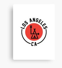 LA - Los Angeles Canvas Print