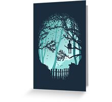 Don't Look Back In Anger Greeting Card