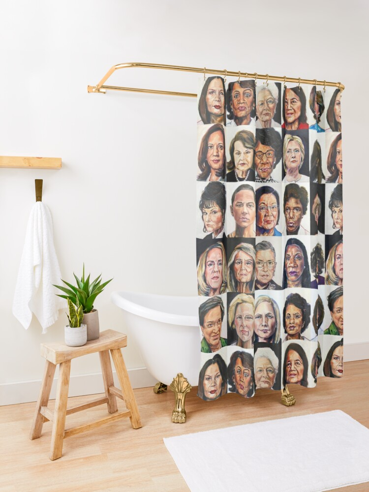 Alternate view of Sheroes 2.0 Shower Curtain