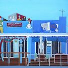 Rod Bending's and Cafe Tsunami by Joan Wild