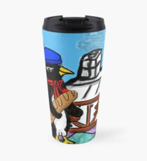 Parisian Penguin Travel Mug