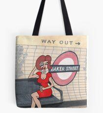 Wildago's Baker Street Pearl Tote Bag