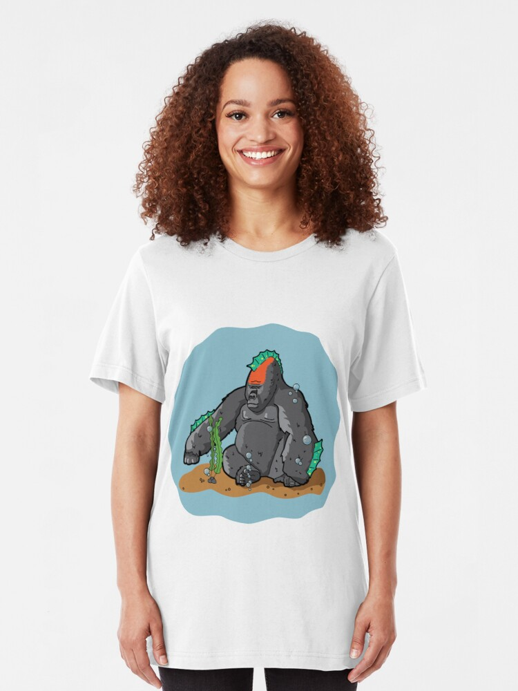 Alternate view of Sea Gorilla Slim Fit T-Shirt