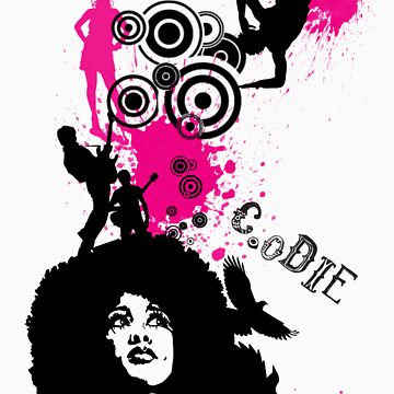 Afro Chick Create or Die by imajik