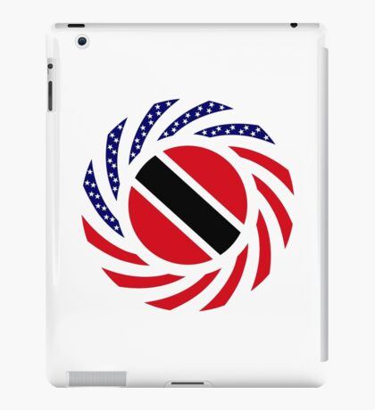 Trinidadian American Multinational Patriot Flag Series iPad Case/Skin