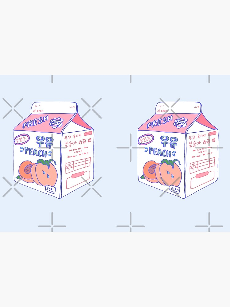 Peach Milk Carton by LauraOConnor