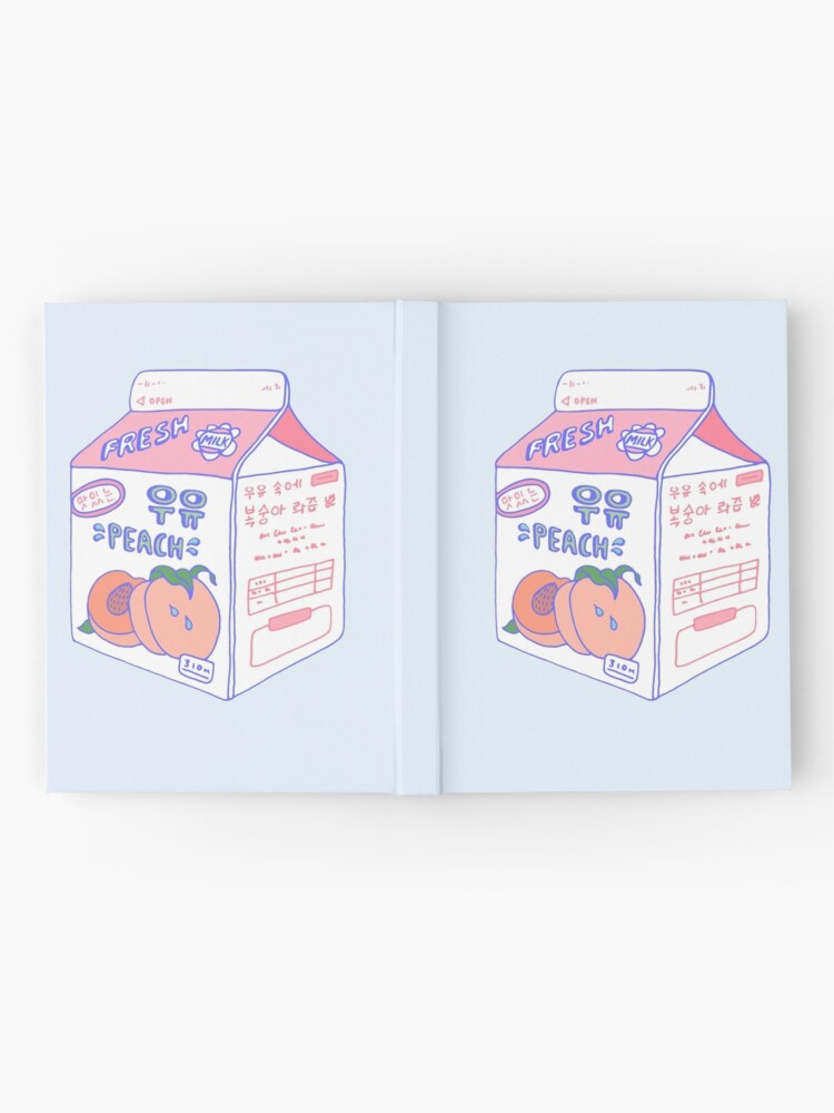 Alternate view of Peach Milk Carton Hardcover Journal