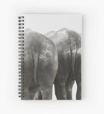 Monochrome - Big buddies Spiral Notebook