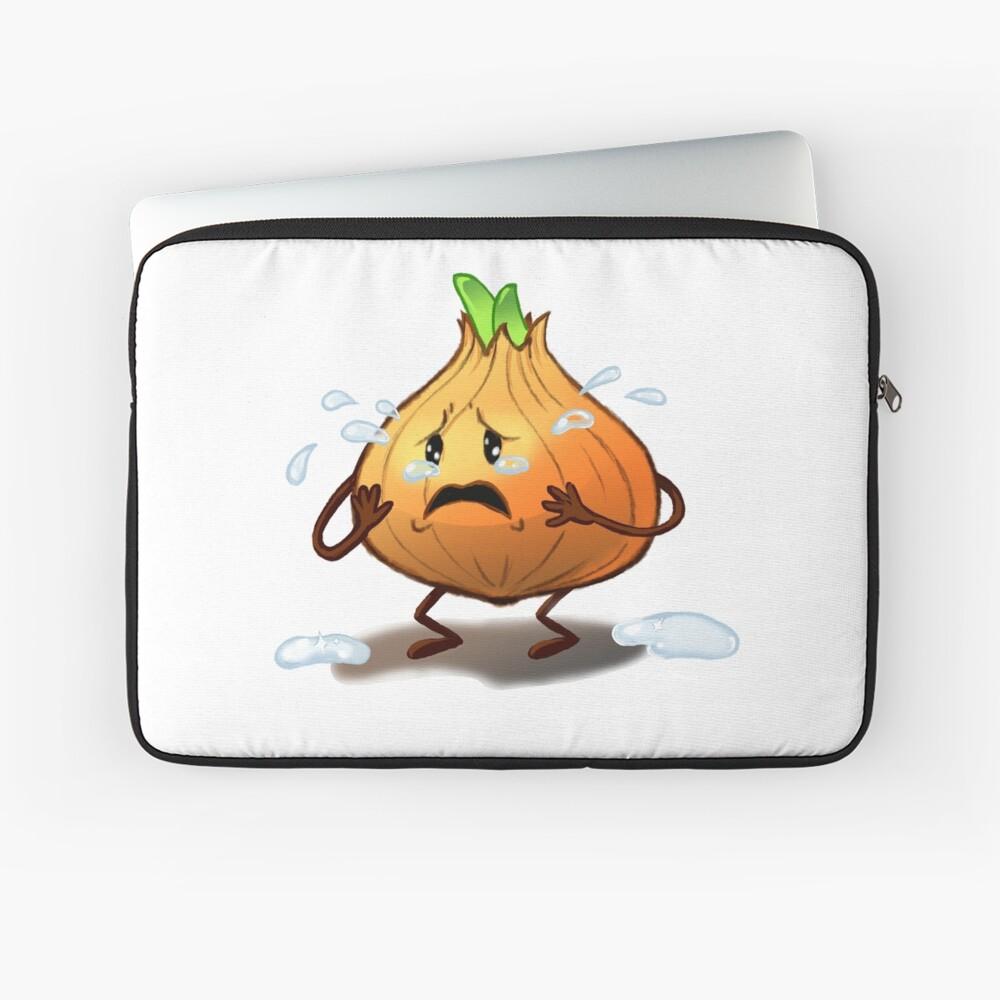 Crying Onion Laptop Sleeve
