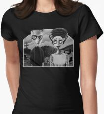 Corpse Bride of Frankenstein Womens Fitted T-Shirt