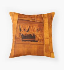 What Evil Lurks? Throw Pillow
