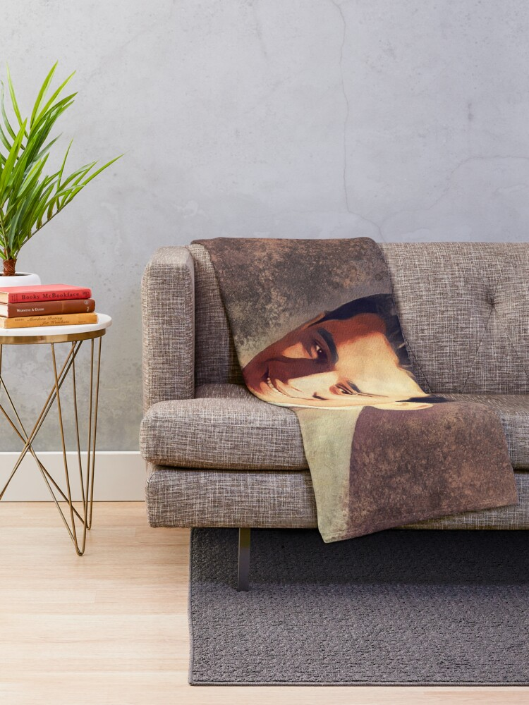 Alternate view of Perry Como, Music Legend Throw Blanket
