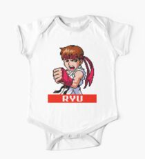 Ryu - Street Fighter Sprite One Piece - Short Sleeve