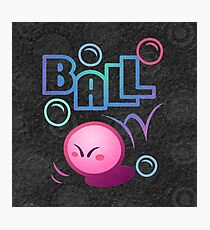 Kirby Ball Photographic Print