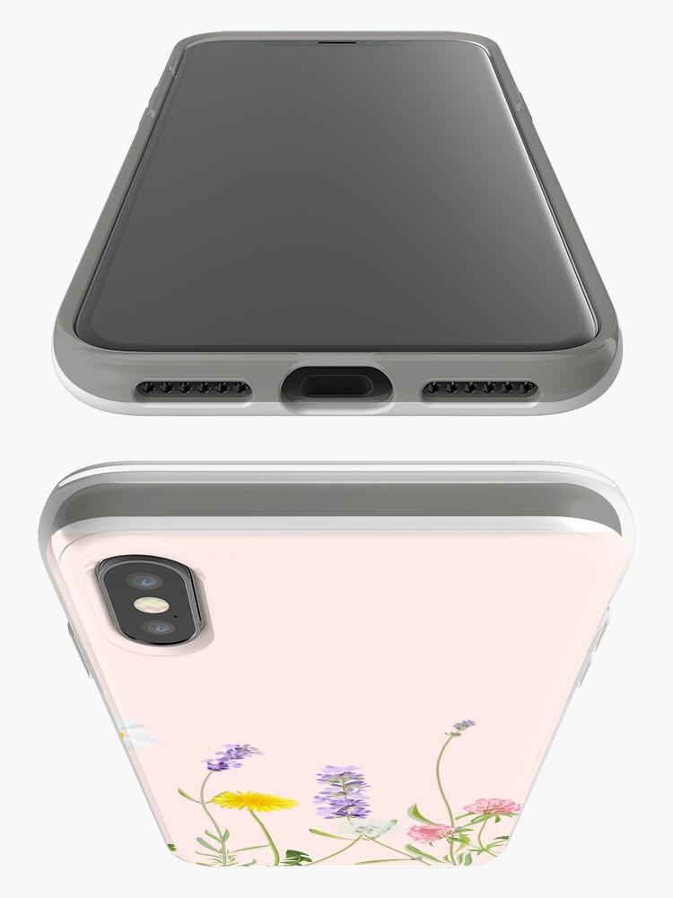 Alternative Ansicht von Blush Pink - Wildblumenträume iPhone-Hülle & Cover