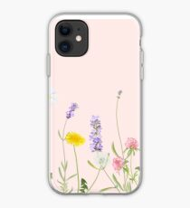 Blush pink - wildflower dreams iPhone Case