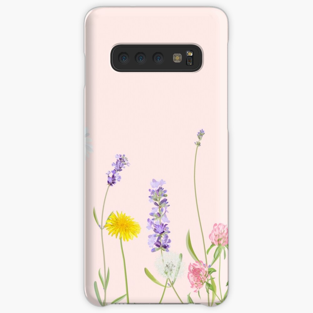 Blush pink - wildflower dreams Case & Skin for Samsung Galaxy