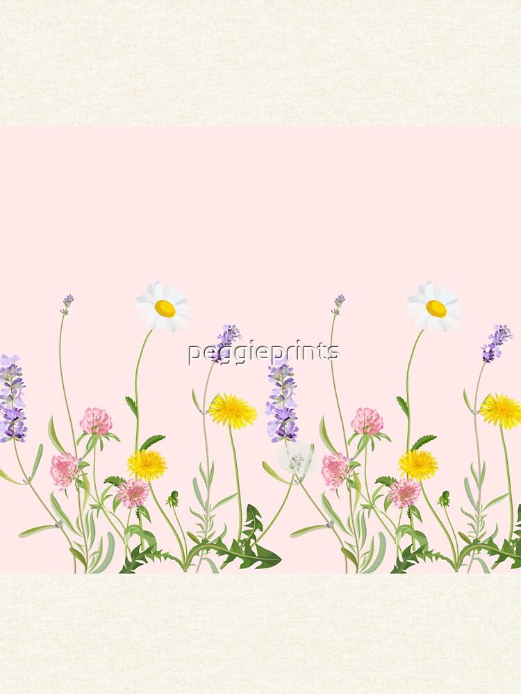 Blush Pink - Wildblumenträume von peggieprints