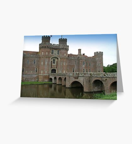 Herstmonceux Castle-England © Greeting Card