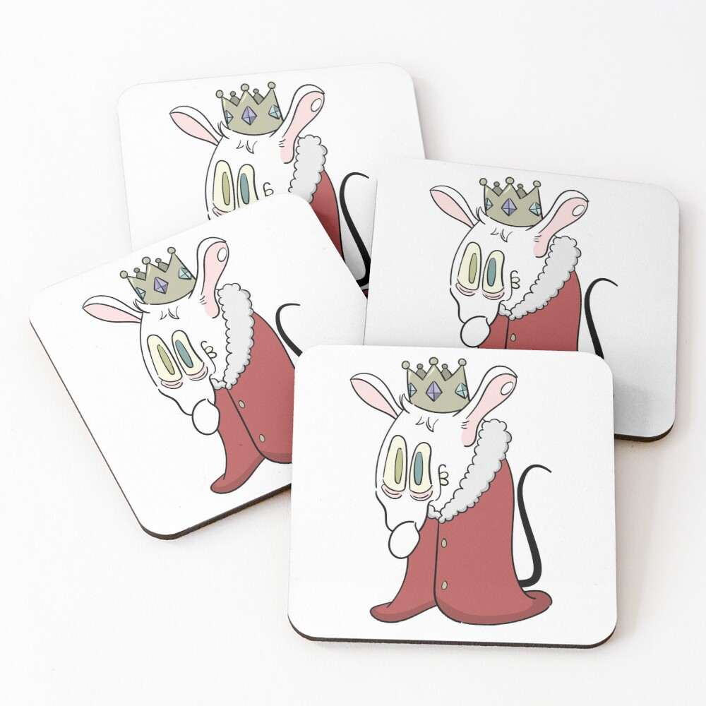 Rat King Coasters (Set of 4)
