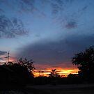 Ubon Sunset by Hugh Fathers