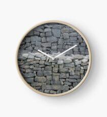 Dry stone wall Clock