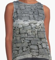 Dry stone wall Sleeveless Top