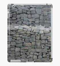 Dry stone wall iPad Case/Skin