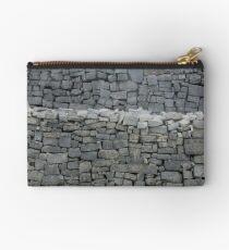 Dry stone wall Zipper Pouch