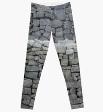 Dry stone wall Leggings