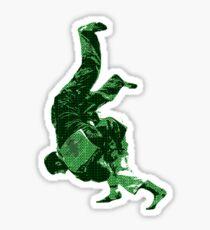 Judo Throw in Gi Sticker