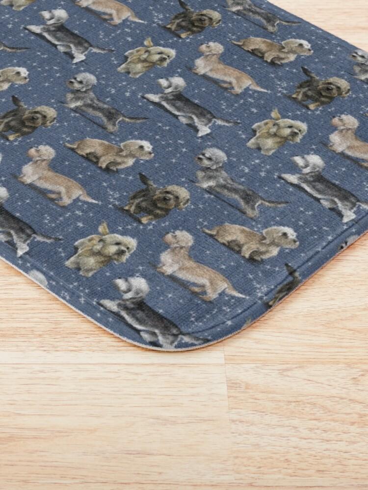 Alternate view of The Dandie Dinmont Terrier Bath Mat