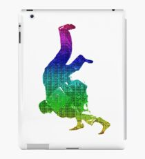 Judo Throw in Gi Multicolour  iPad Case/Skin