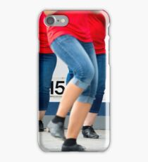 stomping legs iPhone Case/Skin