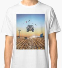 Are We There Yet?! Moonie. Classic T-Shirt