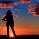 Sunset Silhouette by ClaytonPerry