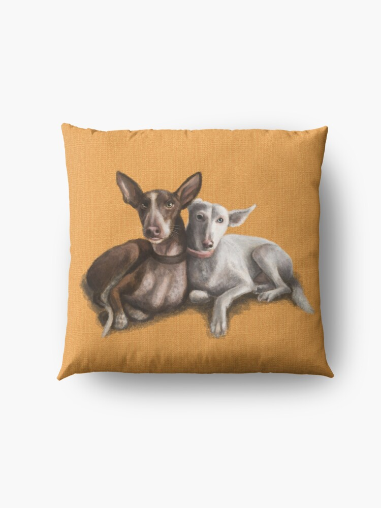 Alternate view of The Podenco Floor Pillow