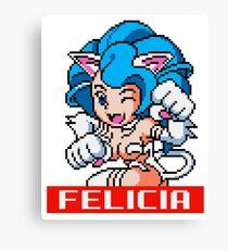 Felicia - Darkstalkers Sprite Canvas Print