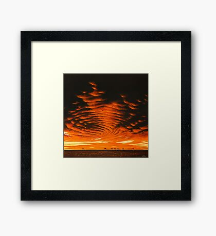 Arid Zone Framed Print