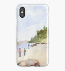 Fun at the beach! iPhone Case/Skin