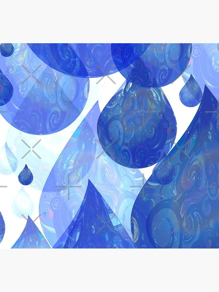 Chubby Rain - Psychedelic Raindrops  by uniiunMB